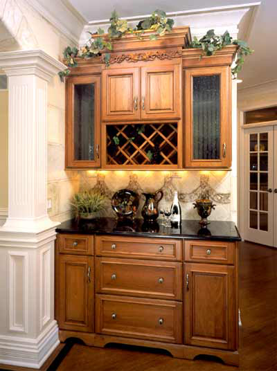 Kitchen Cabinets Chattanooga mouser bar and wine cabinet gallery | kitchen cabinets chattanooga, tn